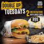 Double up Tuesdays