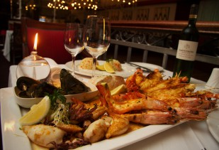 New Autumn Seafood Platter for Two