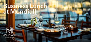 Business Lunch at Mondiall