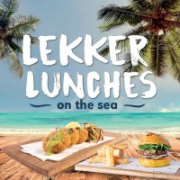 Lekker Lunches on the sea
