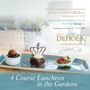 4 Course Luncheon in the Gardens