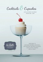 Cocktails & Cupcakes Pairing (Every Saturday)