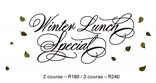 Winter Lunch Special