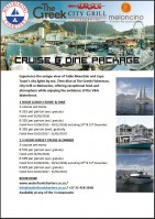 Choose a Cruise and Dine Option
