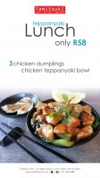 Teppanyaki Lunch Special - Only R58