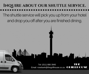 Ask about our Shuttle Service!