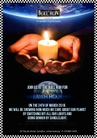 Earth Hour - 24 March 2018
