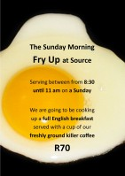 SOURCE SUNDAY FRY UP R70