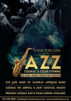 Jazz Cognac & Cigar Evening