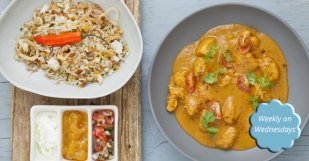 Wednesday is Curry Night at the Plettenberg