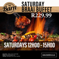 Saturday Braai Buffet