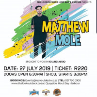Matthew Mole Live at The Lookout Deck