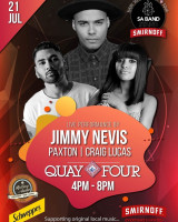 Live Performance by Jimmy Nevis, Paxton & Craig Lucas
