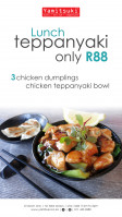Teppanyaki Lunch Special - Only R88