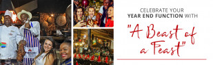 Year End Functions at Carnivore Restaurant