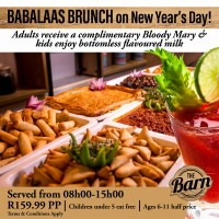 New Year's Day Babalaas Brunch at the Barn