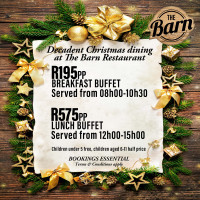 Christmas Day Breakfast & Lunch Buffet