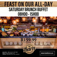 Saturday All Day Brunch Buffet
